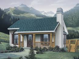 small vacation cabin plans woodsmill vacation cabin home plan 007d 0042 house plans and more