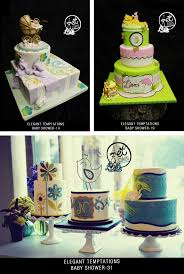 elegant baby shower cakes best shower