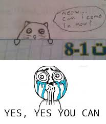 Yes You Can Meme - omg yes of course you can meme by mr cookiecat55 memedroid