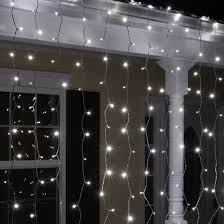 curtain lights led christmas lights 66 drop cool white led curtain lights 150