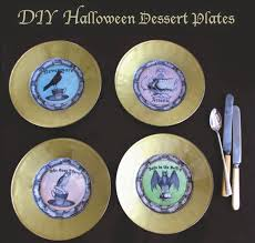 halloween plates pennywise an enchanting brew a witches u0027 tea party