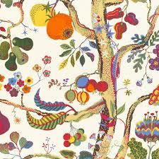 textile vegetable tree linen 315 vegetable tree josef frank