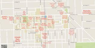 depaul map a judgmental map of depaul lincoln park cus
