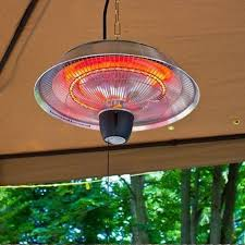 Gazebos For Patios by Hanging Patio Heater Outdoor Infrared Electric Heat Lamp Flameless