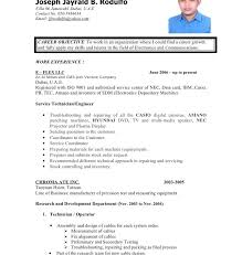 call center resume examples resume example and free resume maker