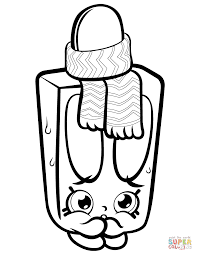 popsi cool shopkin coloring page free printable coloring pages