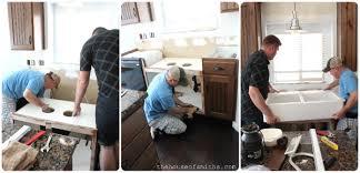 How To Install A Kitchen Island A Kitchen Re Style Part 4 Cabinets U0026 Backsplash