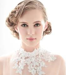 beautiful bride in short hairstyle all of wedding ideas