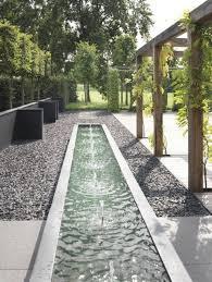 landscape design ideas modern garden water features luxury
