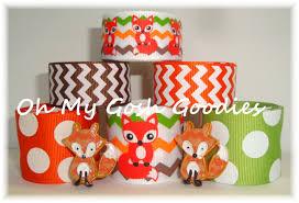 fox ribbon what does the fox say fox ribbon fox grosgrain oh my gosh