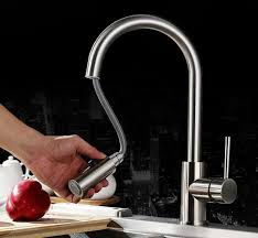 lead free kitchen faucets free shipping 304 stainless steel lead free kitchen faucet mixer