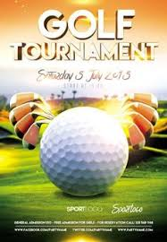 charity golf tournament brochure template charity flyer