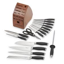 Where To Get Kitchen Knives Sharpened Calphalon Contemporary Cutlery 17 Pc Set Calphalonusastore