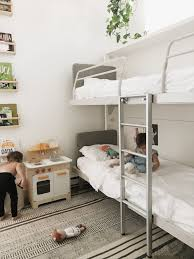 Bunk Bed Without Bottom Bunk Shared Kids Room Our Choice Wall Bunk Beds U2014 600sqftandababy