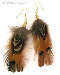 feather earing feather earrings peacock feathers feather earrings