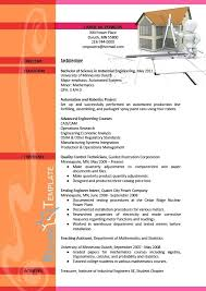Sample Resume For Ojt Architecture by Resume Sample Format U2013 Inssite