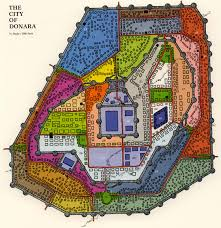 Walled Garden City Guilds by Powers And Perils The Royal City Of Donara