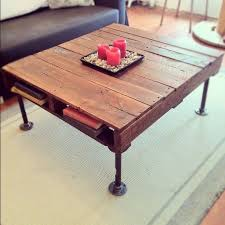 Industrial Style Coffee Table Best 25 Industrial Style Coffee Table Ideas On Pinterest