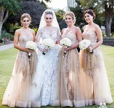 lace bridesmaid dresses best 25 organza bridesmaid dress ideas on beautiful
