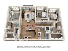 Unit Floor Plans Designs Floor Plans Of Midtown Village In Tuscaloosa Al
