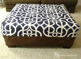 Covers For Ottomans Fascinating Sure Fit Ottoman Cover Ottomans Ottoman Covers Target