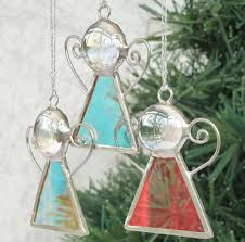 stained glass tree decoration by 20ethcenturygirl