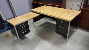 L Shaped Metal Desk Images Of 5 Drawer L Shaped Metal Desk 60x30 36x18