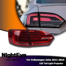 vw led tail lights nighteye vw jetta mk6 tail lights north america design jetta led tail