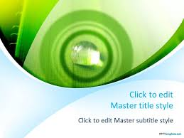 free environment ppt templates ppt template