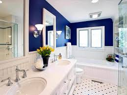 blue bathroom decorating ideas small blue bathroom decorating ideas with white stand alone tub