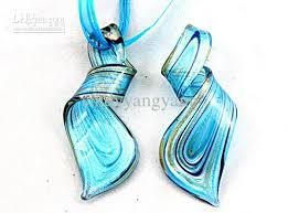glass necklace images Thread art murano glass pendant beaded necklace fashion italian jpg