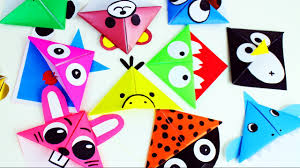 back to origami paper corner bookmarks youtube