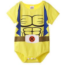 Halloween Costumes Wolverine Baby Boys Wolverine Funny Bodysuit Babygrow Halloween Costume