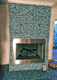 ergonomic glass tile fireplace 34 glass fireplace tile gallery