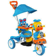tricycle cartoon sunbaby tricycle sb 790 duck on a drive mix color