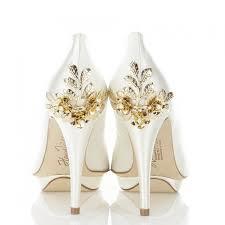 wedding shoes embellished harriet wilde bridgette gold embellished heel platform