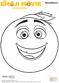 gene emoji coloring page free printable coloring pages