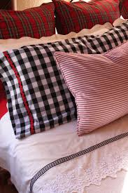 red reversible gingham bed linen gingham gals pinterest bed