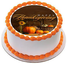 thanksgiving edible cake topper cupcake toppers edible prints