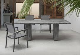 zuo modern parksville beach dining table grey disc 703535