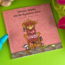 personalised story book princess the mysterious noise