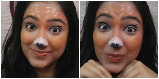 Giraffe Halloween Makeup Deer Costume Snapchat Filter Makeup Supermakeupattitude1 Youtube