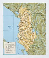 Europe Cities Map by Large Detailed Political And Administrative Map Of Albania With