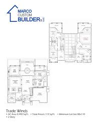 custom floor plan tradewinds