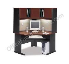 Corner Computer Desk With Hutch by Bush Outlet Office Advantage Series Corner Desk 29 8