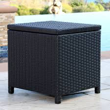 coral coast berea outdoor wicker storage ottoman hayneedle