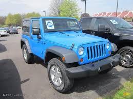 blue jeeps 2011 cosmos blue jeep wrangler sport 4x4 64404314 gtcarlot com