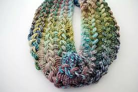 hairpin crochet ravelry braided hairpin lace infinity scarf pattern by b hooked