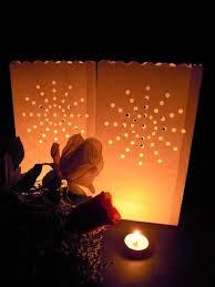 firework lantern candle bags 20pcs sunburst firework paper lanterns tea light