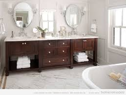 Bathroom With Two Separate Vanities by Stylish Decoration Bathroom Vanity 2 Sinks Bathroom Vanity Sinks
